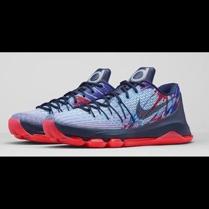 """KD 8's """"Independence Day"""" NEVER WORN Men's size 13"""